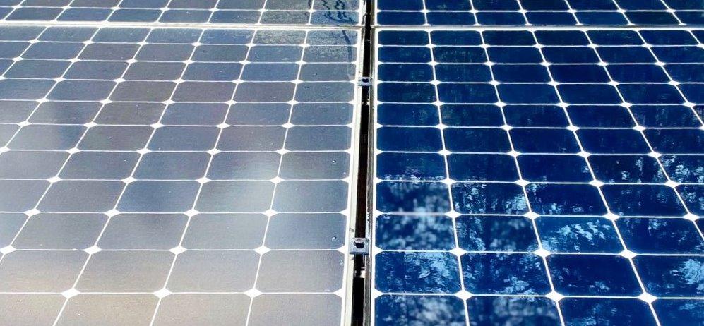 Снижение эффективности грязных солнечных панелей