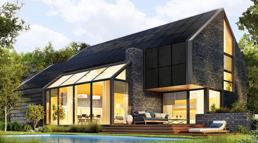 Солнечная крыша для дома Sunroof