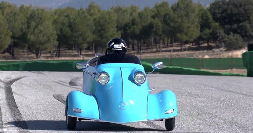 Микрокар Messerschmitt возродится как электромобиль (ДВС версия)
