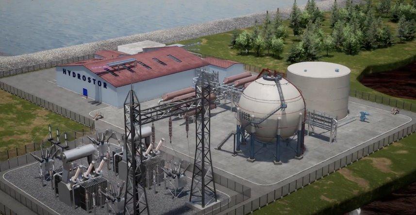 Энергохранилище на сжатом воздухе