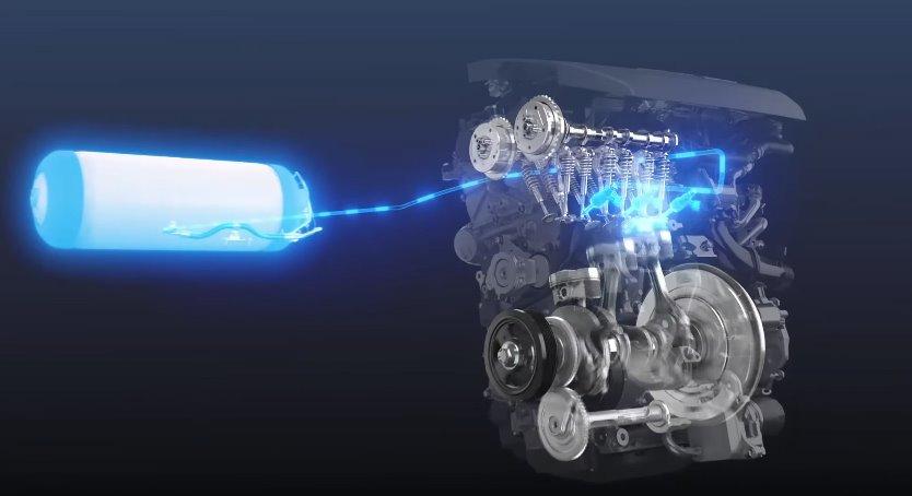 Водородный ДВС Toyota