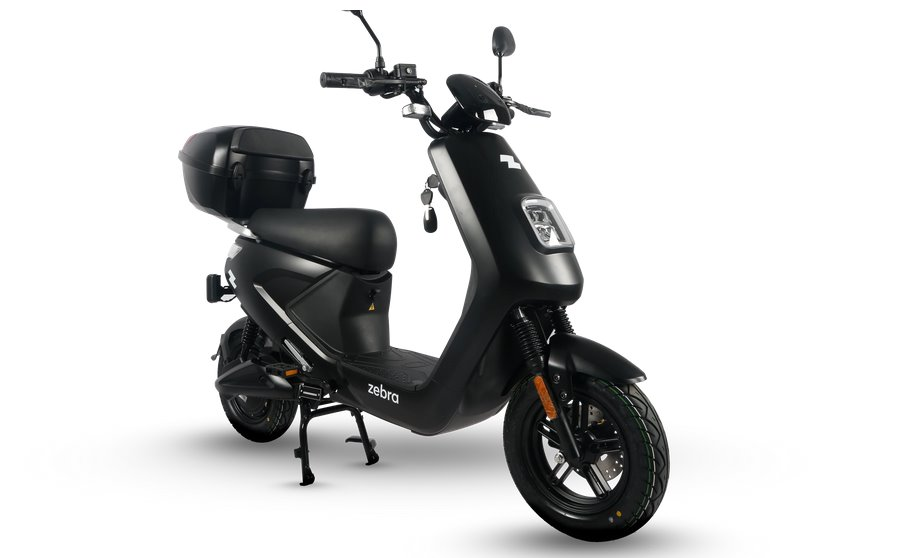 Электровелосипед с функциональностью и дизайном скутера - Zebra
