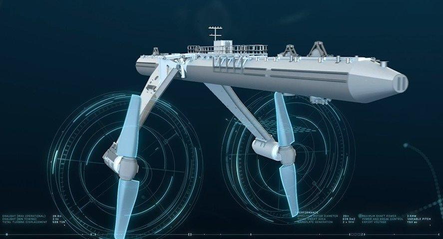 Устройство самого большого в мире волнового генератора