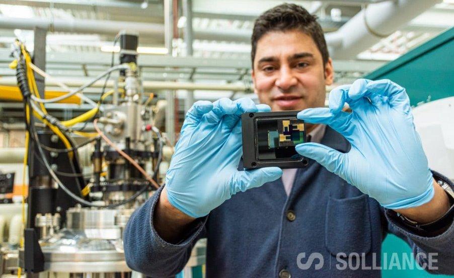 Кремниево-перовскитные фотоэлементы Solliance показали эффективность 28,7