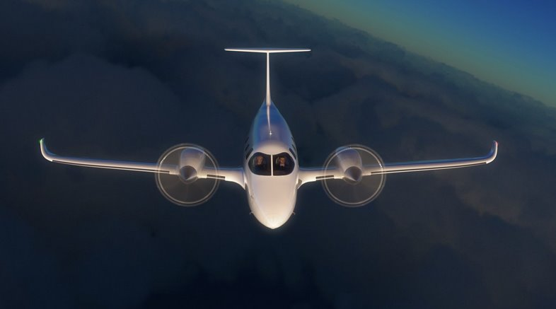 Электрический самолет eFlyer 800