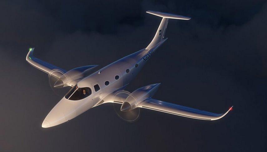 Самолет на электротяге Bye Aerospace