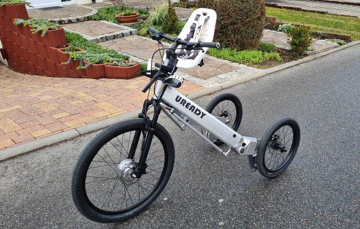 Електротрицикл для їзди стоячи Uready отримає запас ходу до 70 км