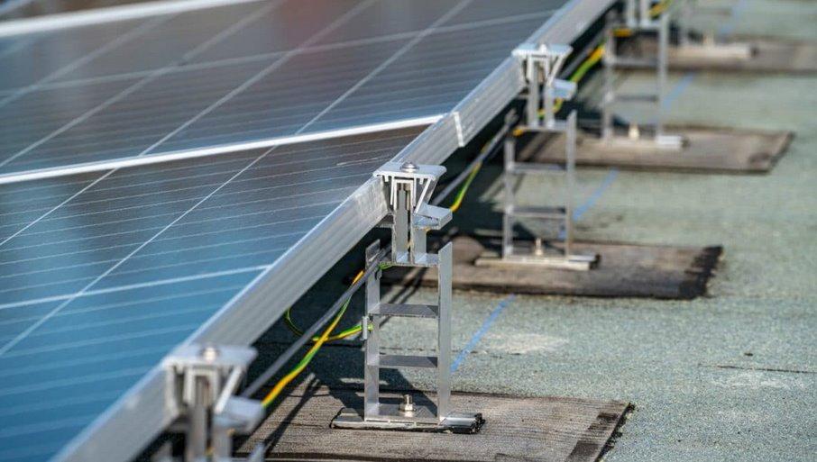 Крепления для быстрого монтажа солнечных панелей