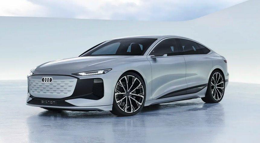 Электромобиль Audi A6 E-Tron