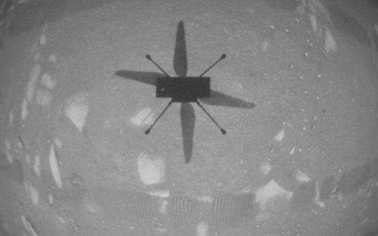 В атмосфере Марса совершен первый полет (видео)