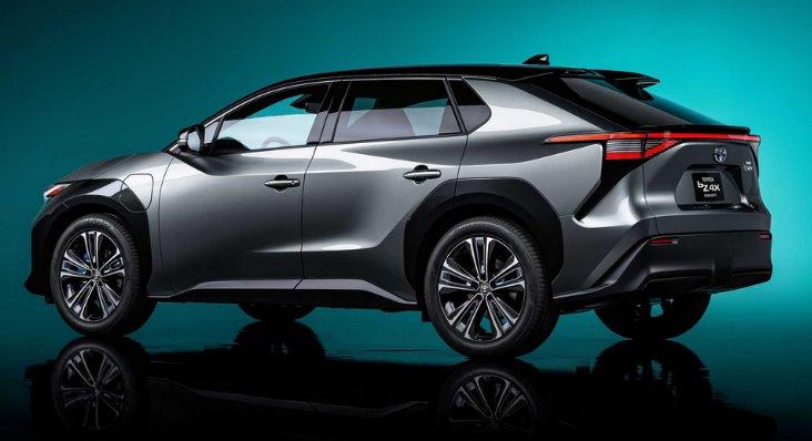 Toyota электрический SUV