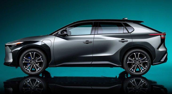 Toyota представила першу модель своєї повністю електричної серії - кросовер bZ