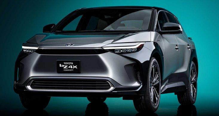Toyota представила первую модель своей полностью электрической серии - кроссовер bZ