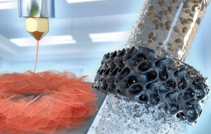 Эффективные фильтры для воды сделали из напечатанного на 3D-принтере аэрографена - ЭкоТехника