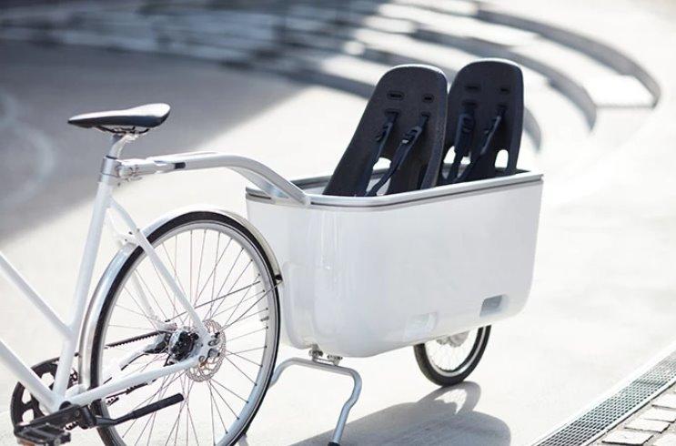 Электрический прицеп для велосипеда