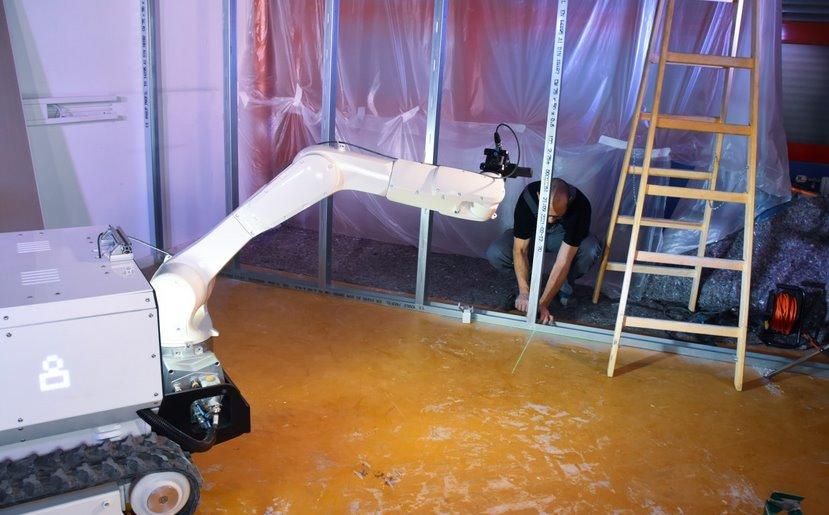 Роботизированный строитель