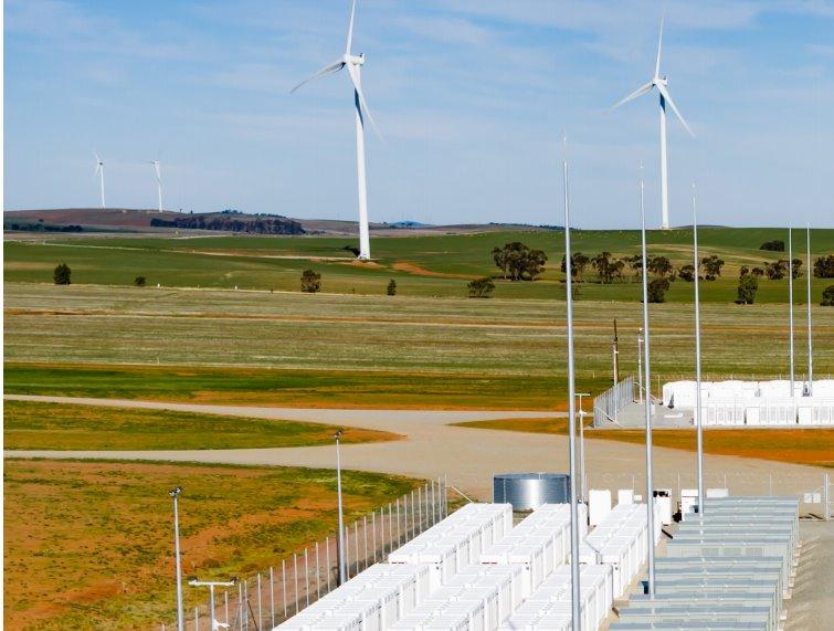 Аккумуляторная электростанция для возобновляемых источников энергии