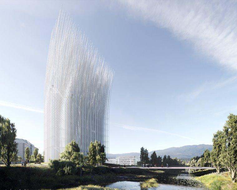 Новая башня будет освещать Кремниевую долину за счет энергии ветра - ЭкоТехника