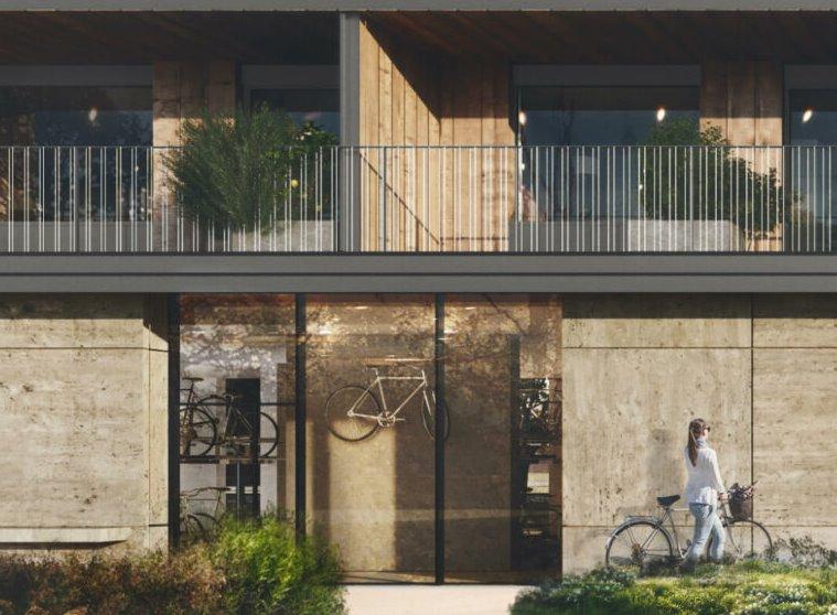 Многоквартирный дом кросс-ламинированная древесина