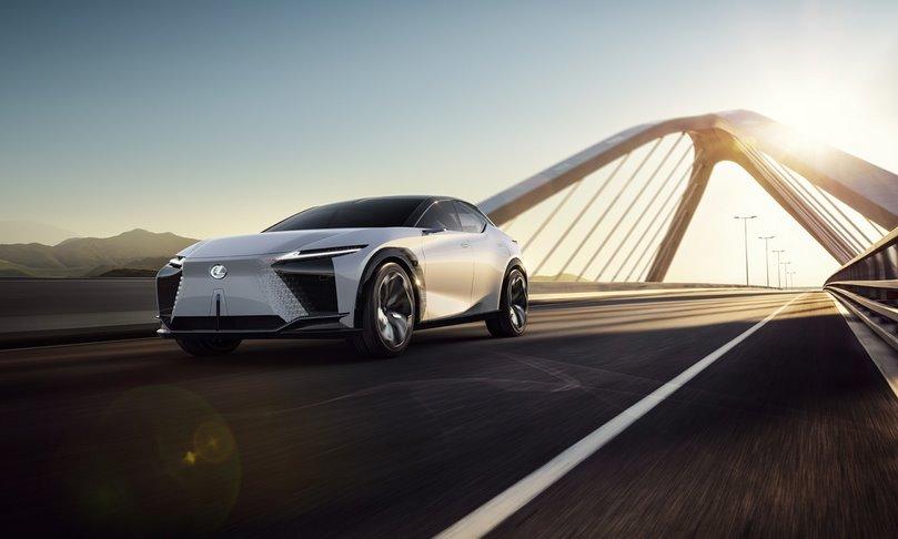 Электромобиль LF-Z Electrified Lexus запустит в серию с 2025 года