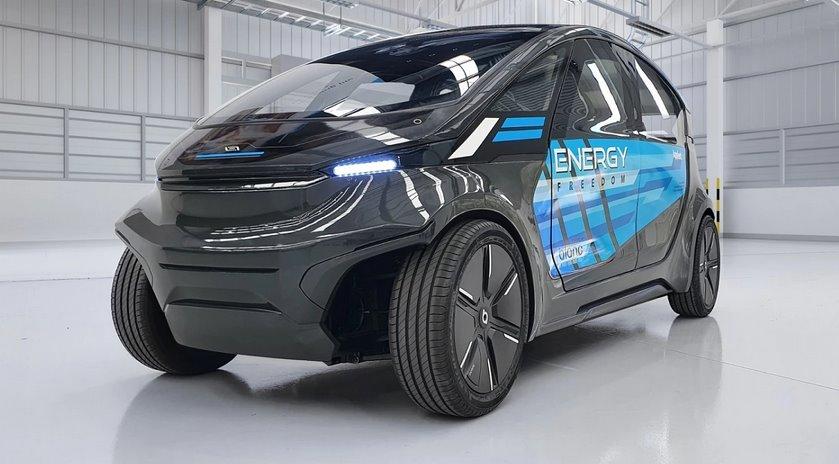 Городские солнечные робомобили с максимальной энергоэффективностью