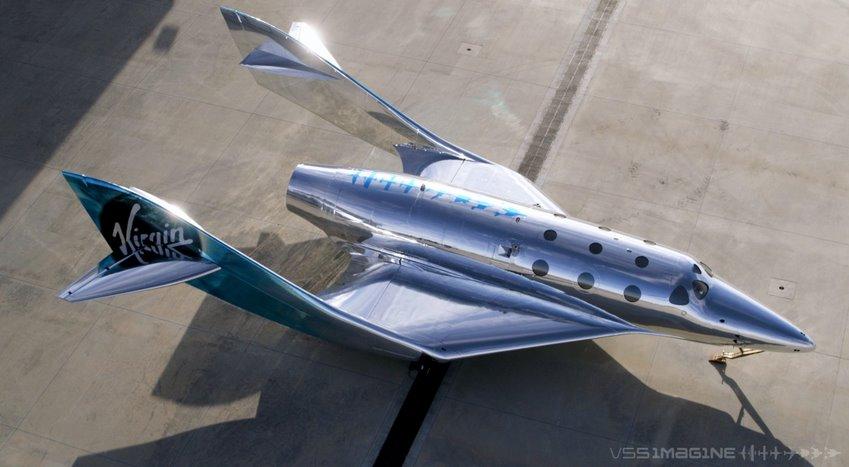 SpaceShip III - Virgin Galactic показала туристический космоплан нового поколения