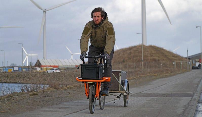 Комплект CargoDrive зробить будь-який велосипед електричним і вантажним