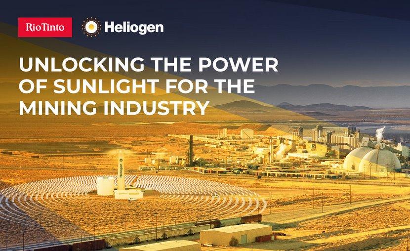 Солнечную технологию Heliogen задействуют на промышленных предприятиях Rio Tinto