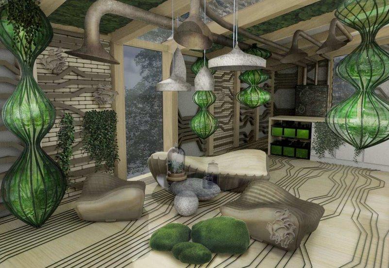 Экспериментальный био-апартамент поможет наладить технологию создания живых домов