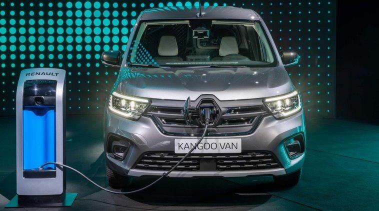 Електрофургон Renault Kangoo нового поклоніння отримав поліпшені характеристики