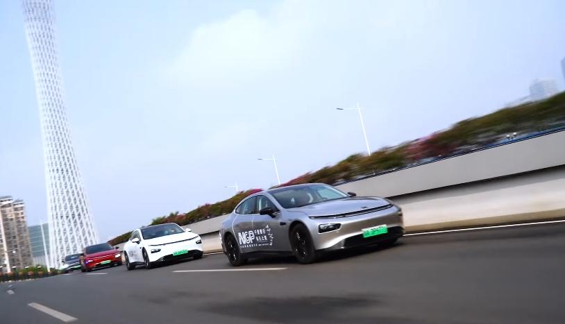 Электромобили Xpeng проедут на автопилоте более 3 000 км за неделю