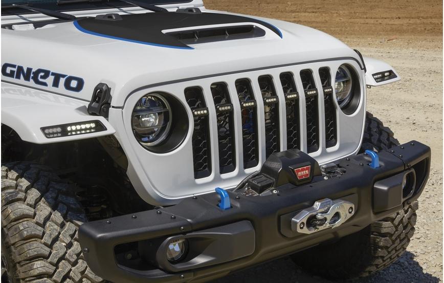 Электрический внедорожник Jeep Wrangler Magneto