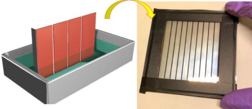 Новый метод изготовления перовскитных фотоэлементов позволит выпускать их массово