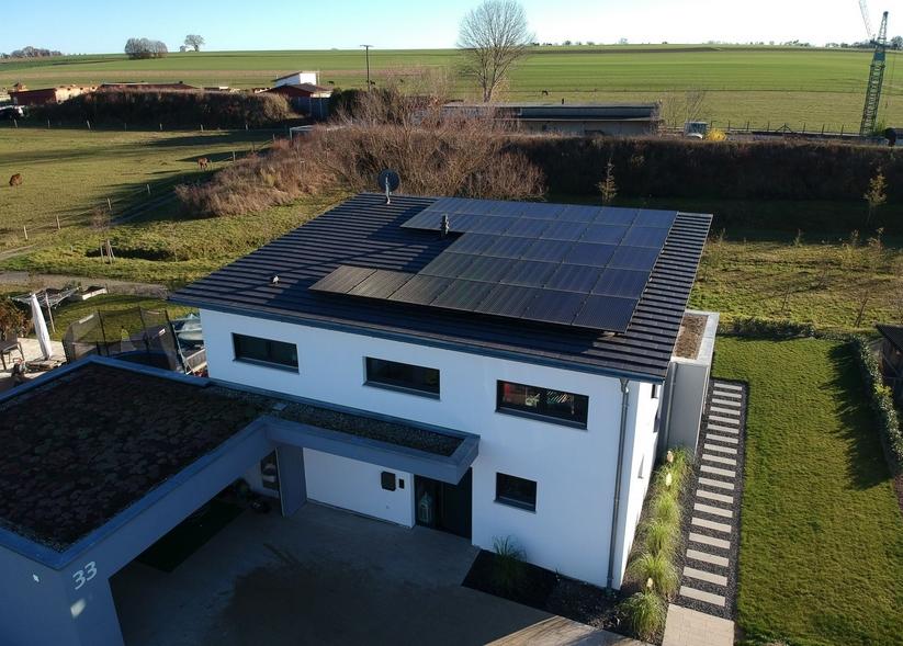 Установка солнечных батарей на северной стороне крыши эффективность