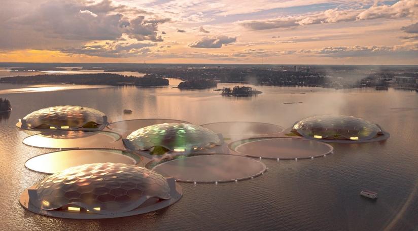 Тропические острова в Финском заливе будут обогревать Хельсинки как гигантский тепловой насос - ЭкоТехника