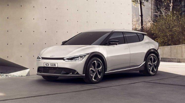 Kia EV6 - электромобиль на новой платформе E-GMP