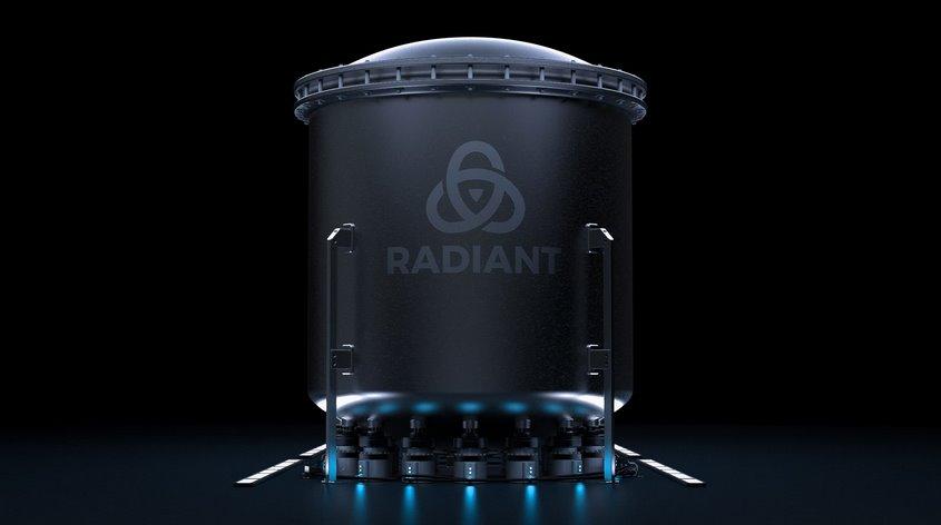 Ядерный микрореактор Radiant  портативный дешевый источник энергии для 1000 домов