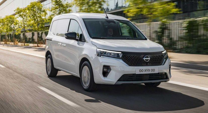 Nissan представил электрофургон Townstar - свое видение Renault Kangoo