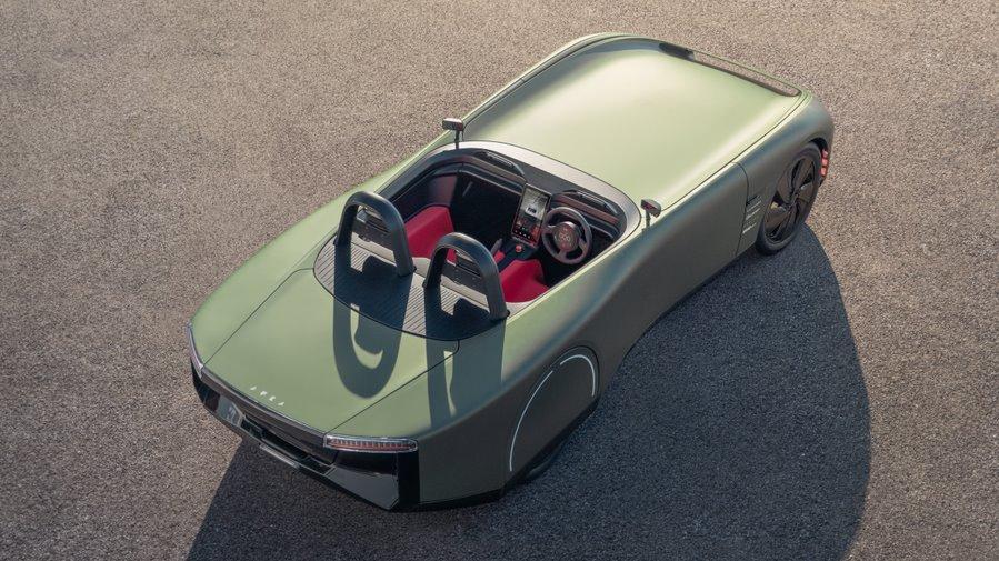 Aura  классический британский родстер переосмыслен для эпохи электромобилей