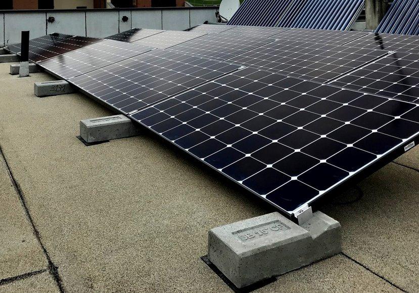 Новая балластная система креплений солнечных панелей экономит 70 времени монтажа