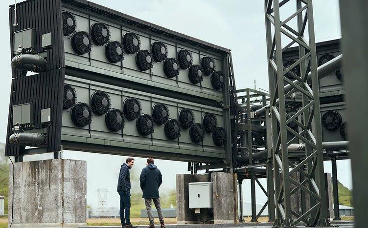Крупнейшая в мире установка по сбору CO2 из воздуха заработала Исландии