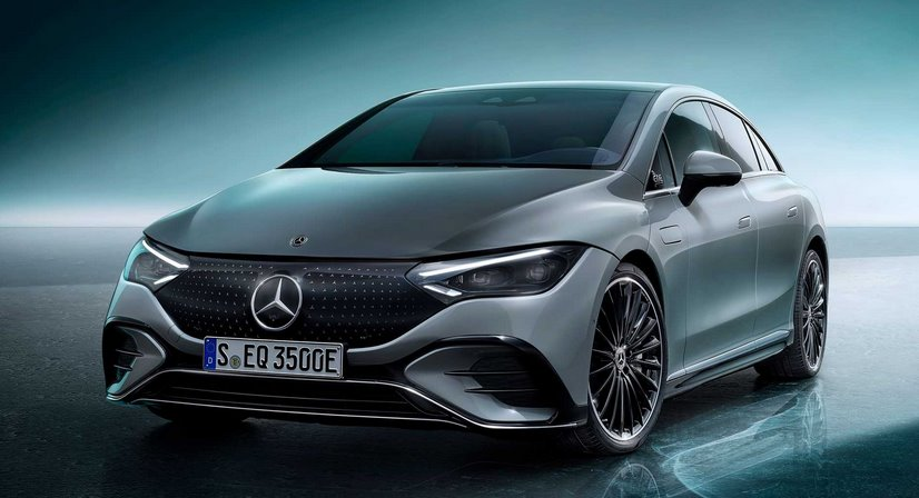 Mercedes-Benz EQE - представлен прямой конкурент Tesla Model S (видео)