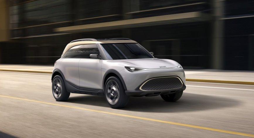 Smart запускает свой первый электрокроссовер - с дизайном от Mercedes и шасси от Geely