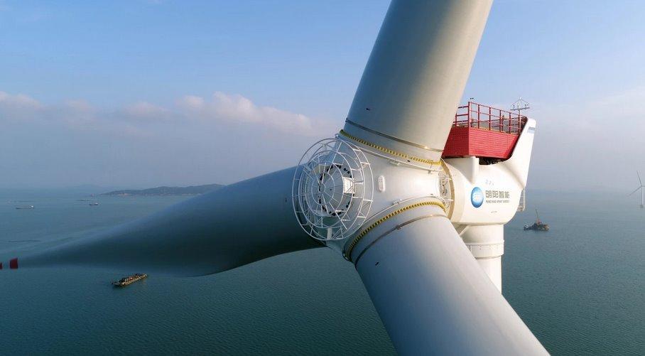 Китайский ветрогенератор-гигант превзойдет текущего рекордсмена от Vestas