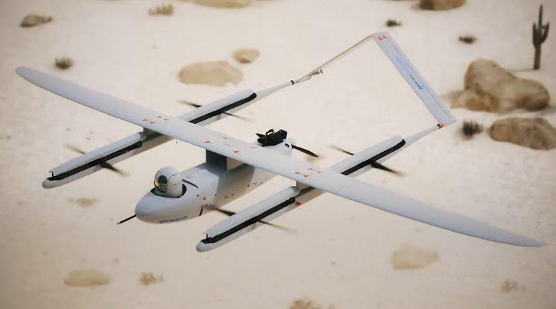 Дрон UAV Factory прячет винты и летает на 20 дальше