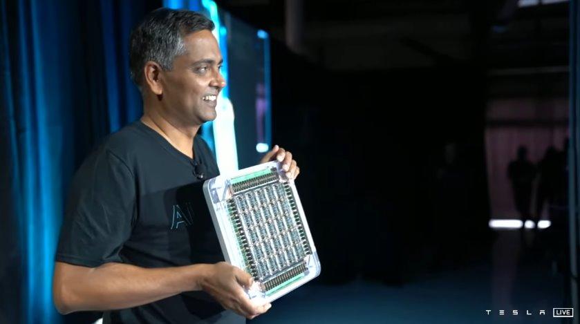 Tesla представила Dojo - самый мощный в мире суперкомпьютер для машинного обучения