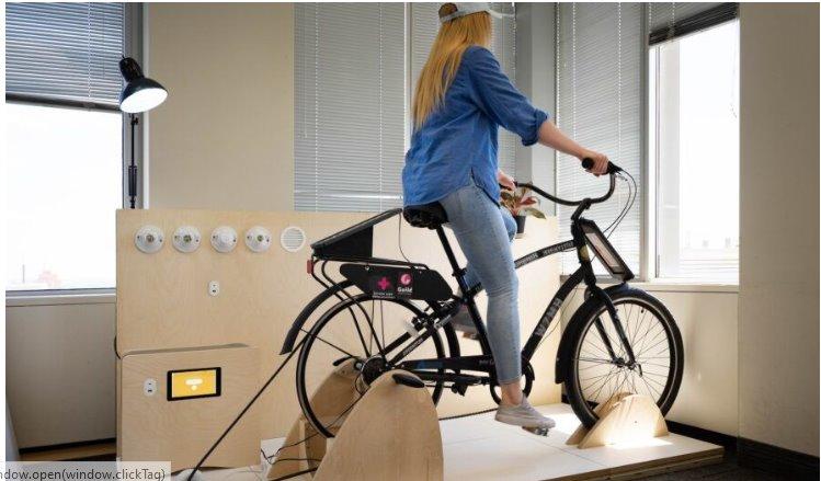 Энергию солнца и мускулов человека для электроснабжения квартиры объединили в устройстве mySUN