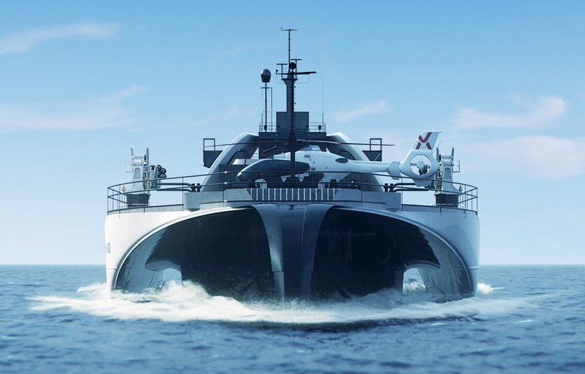 Беспилотный корабль-аккумулятор доставит энергию с морских ветряков на сушу