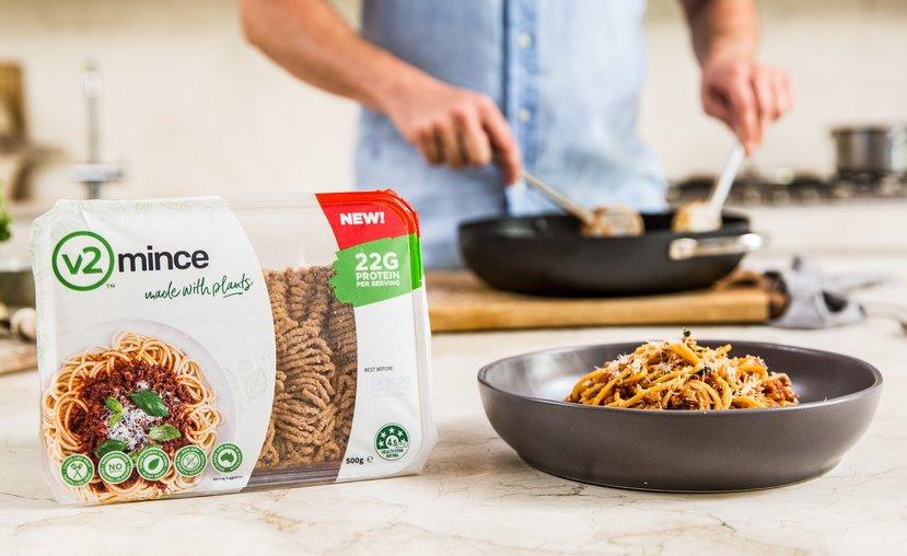 Растительное «мясо» v2food будет продаваться в Европе - ЭкоТехника