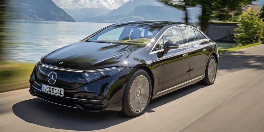Mercedes-Benz EQS цена нового электромобиля стартует от 106 тыс евро
